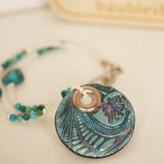 Boho Mandala Statement Necklace