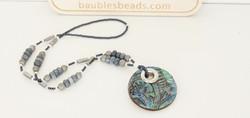 Blue Coral Boho Necklace