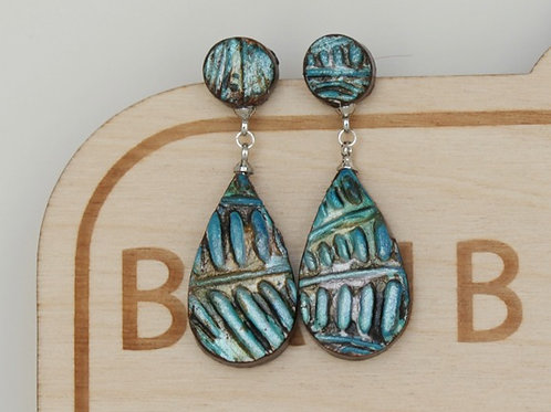 Hippie Boho Dangle Earrings