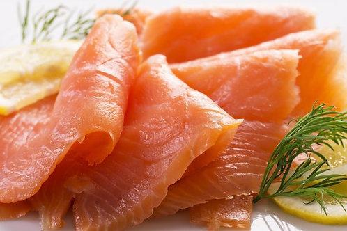 Fresh Cold Smoked Salmon Fillet +/- 500g