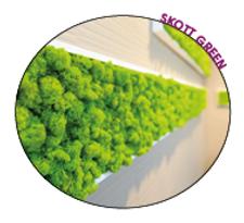 cloisons végétale stabilisée