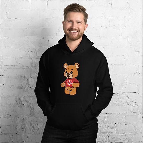 Unisex TMT Bear Hoodie Free World Wide Shipping
