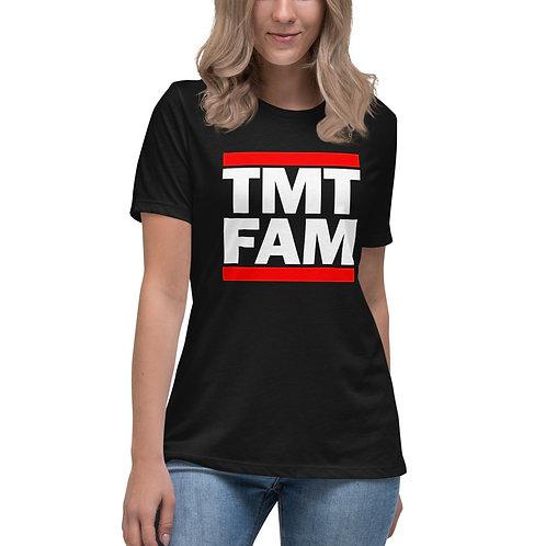 TMT FAM Women's Relaxed T-Shirt FREE WORLD WIDE SHIPPING