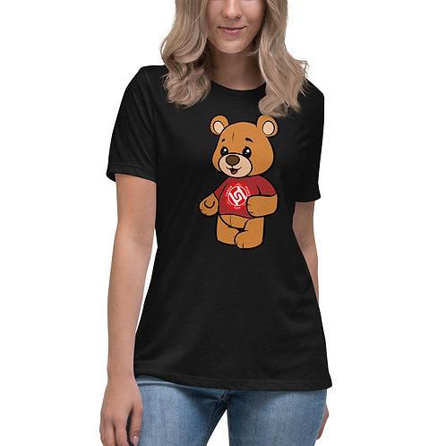Women's Relaxed TMT Bear T-Shirt FREE WORLD WIDE SHIPPING