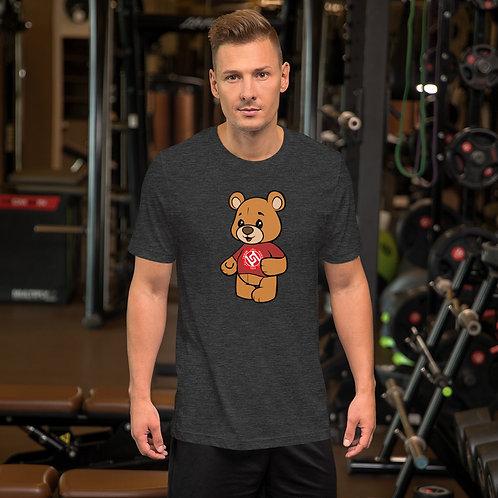 Mens Short-Sleeve TMT Bear T-Shirt Free World Wide Shipping