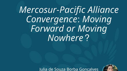 Mercosur-Pacific Alliance Convergence: Moving Forward or Moving Nowhere?