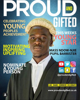 Proud and Gifted Cover - 25.07.2020