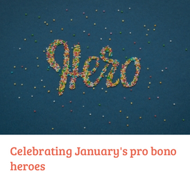 Advocate: Pro-bono hero of the month for January 2021