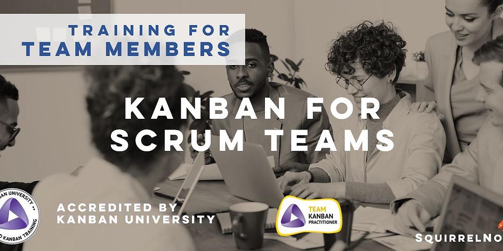 [Online] August - Kanban for Scrum Teams