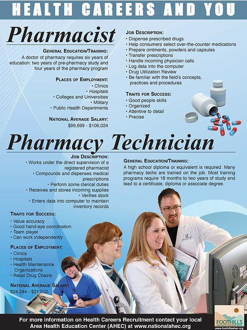 Health Careers Poster Set