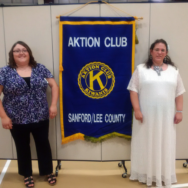 Beth serves as the President of her local Kiwanis Aktion Club chapter.