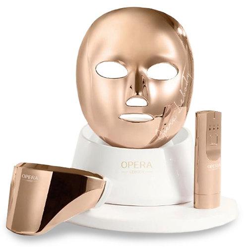 OPERA LED Mask Set Face & Neck 2-in1