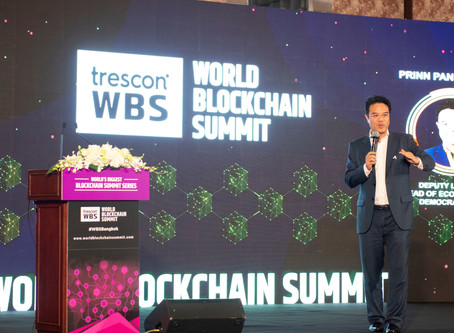 Thailand establishes its vision of becoming the next Blockchain force at Trescon's World Blockchain