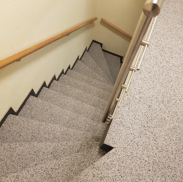 Treppenbelag rutschhemmend Colorquarz gr