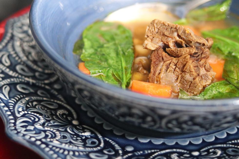 Beef Spinach Stew