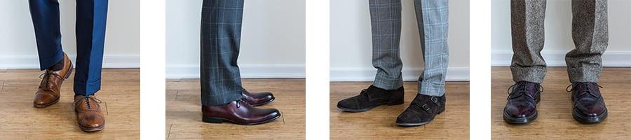Types of trouser breaks