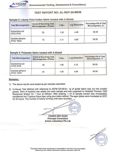 A Shield_AXIOM Lab Test Report Page 2.jp