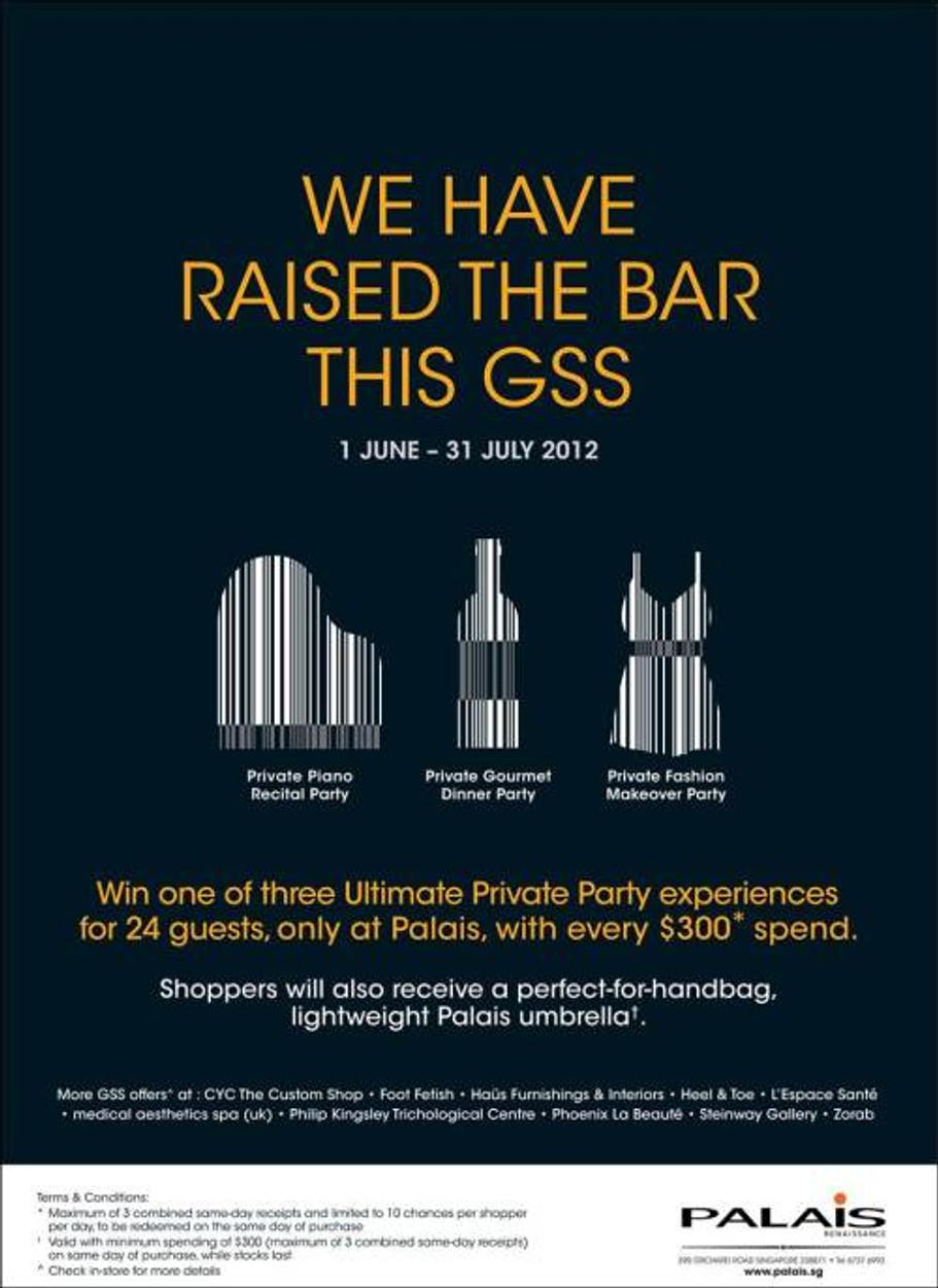 Palais Renaissance - GSS 2012 Exclusive