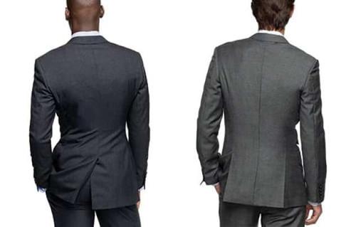Center vs side suit vents
