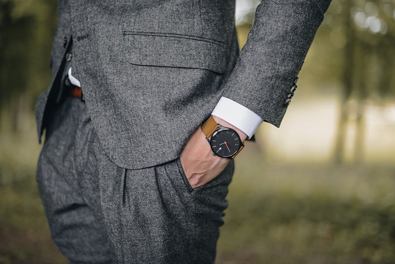A Charcoal Grey suit can be suitable for both business and casual settings.