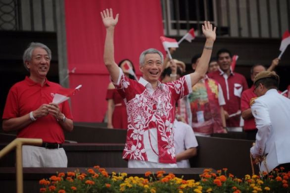 Image result for lee hsien loong ndp 2019