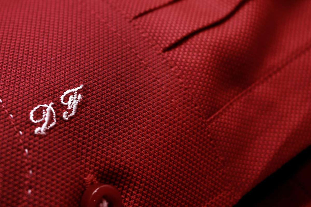 CYC Tailored Shirt English Initials Embroidery