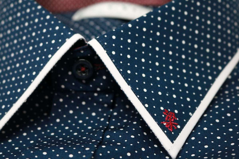 CYC Tailored Shirt Chinese Initials Embroidery
