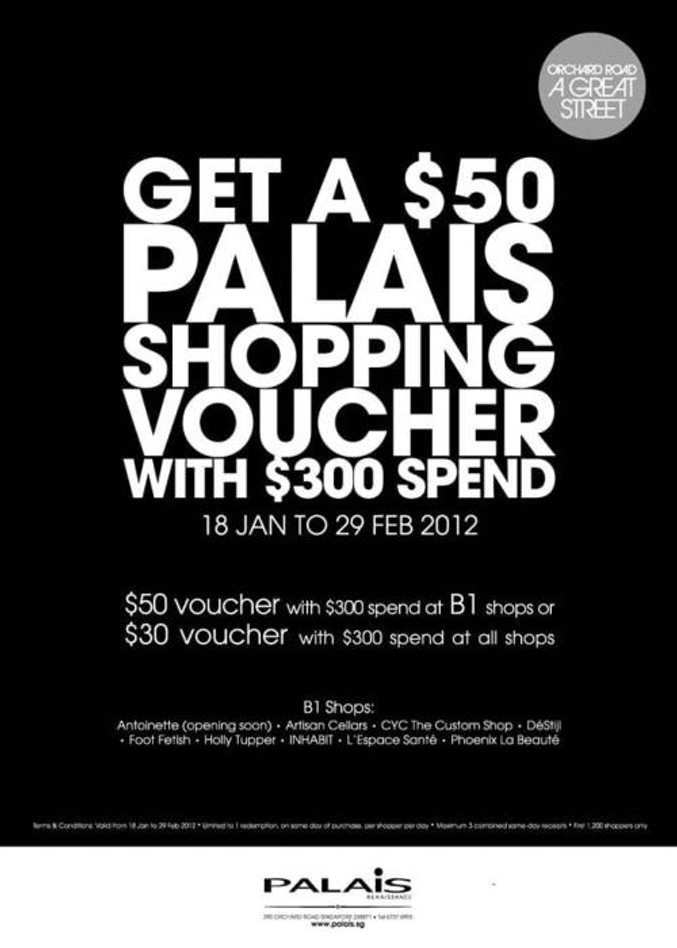 Special promotion only at CYC Palais Renaissance