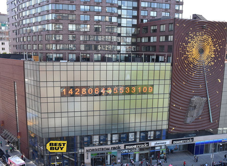 ניו יורק טריוויה #2 או: מה פשר המספרים שרצים על הבניין הדרומי ביוניון סקוור?