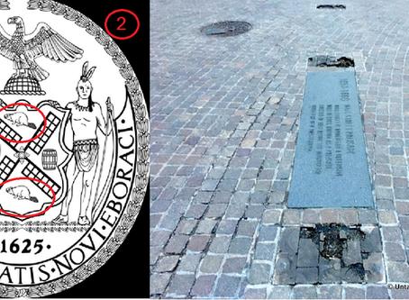 ניו יורק טריוויה #5  או: למה לרחוב וול סטריט קוראים ככה ואיך זה קשור לבונים?