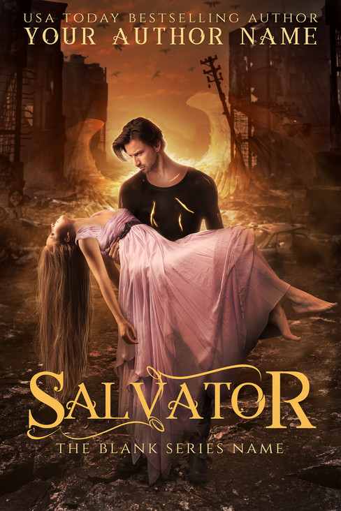 Salvator - version with wings and wounds
