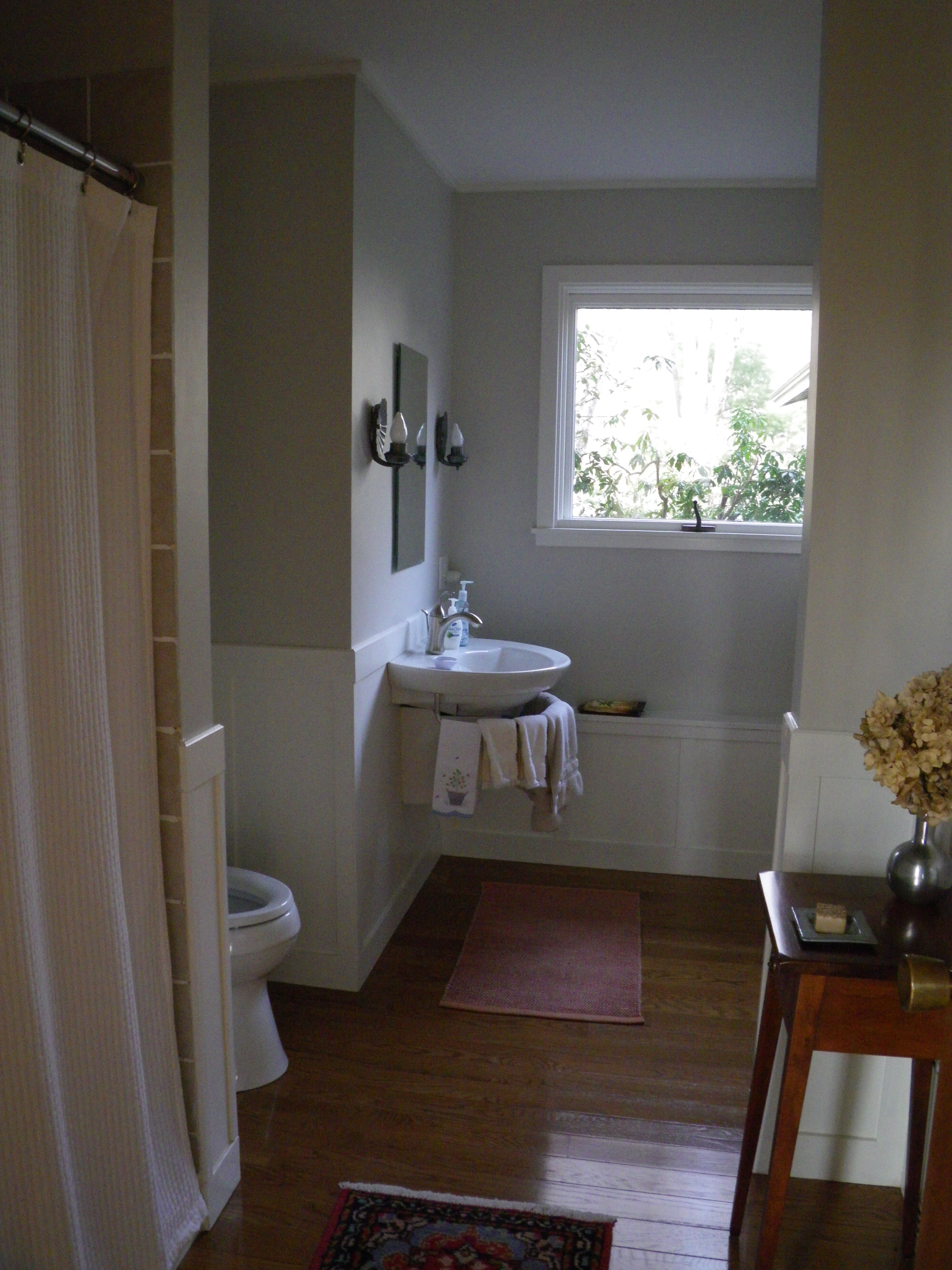 Guest bath conversion