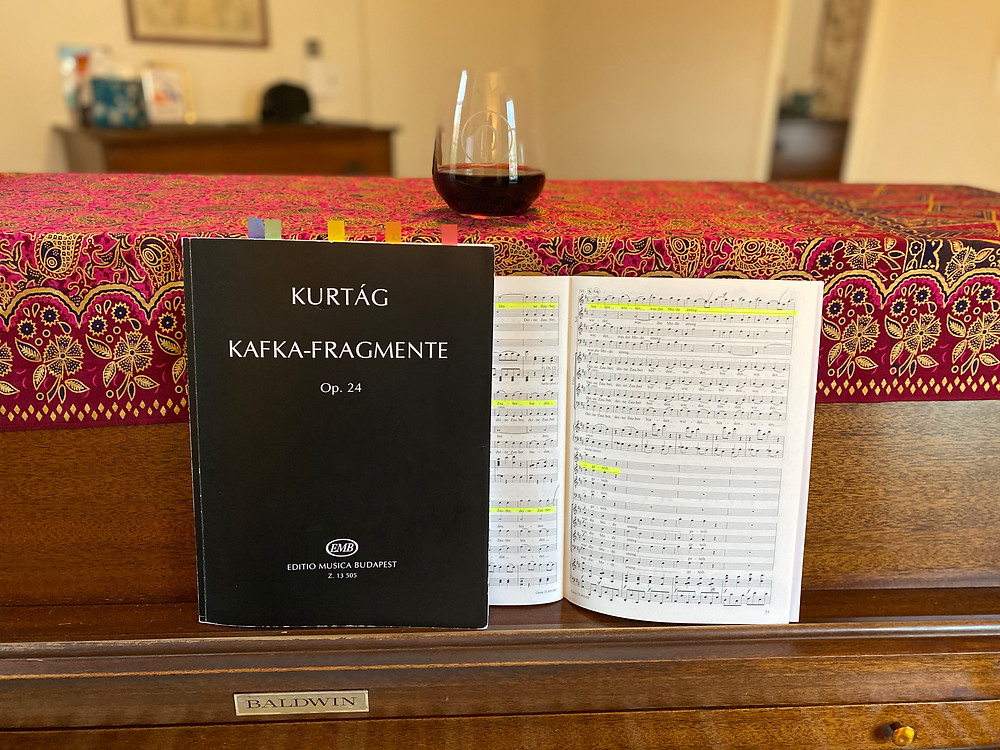 Kurtag Kafka Fragments for Soprano and Violin
