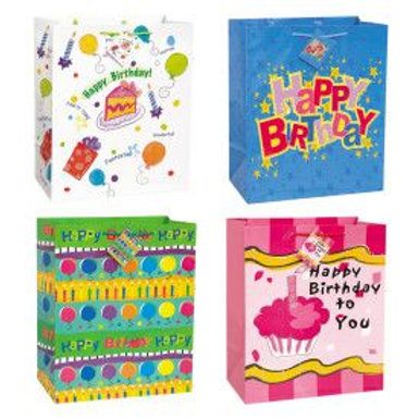 Bag Gift Large Birthday Wishes