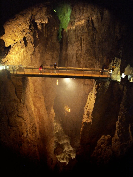 Monday in Slovenian Cave