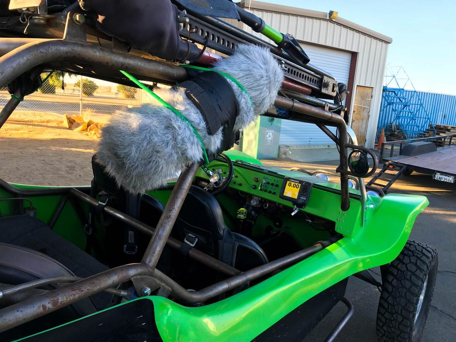 Recording Vehicle Engine Sounds