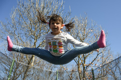 Canva - Happy Kid, Outdoor, Playing, Gir