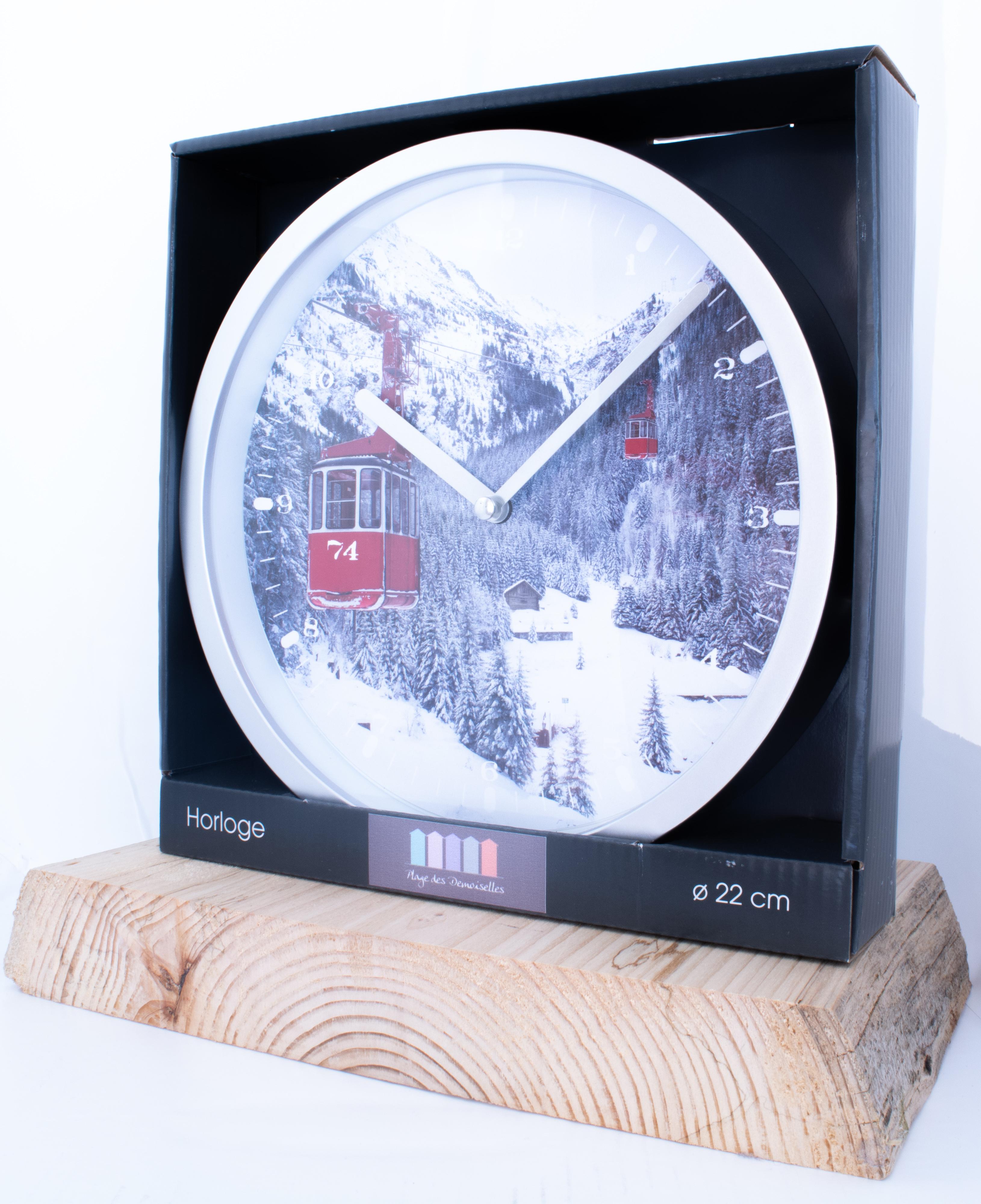 Horloge télécabine