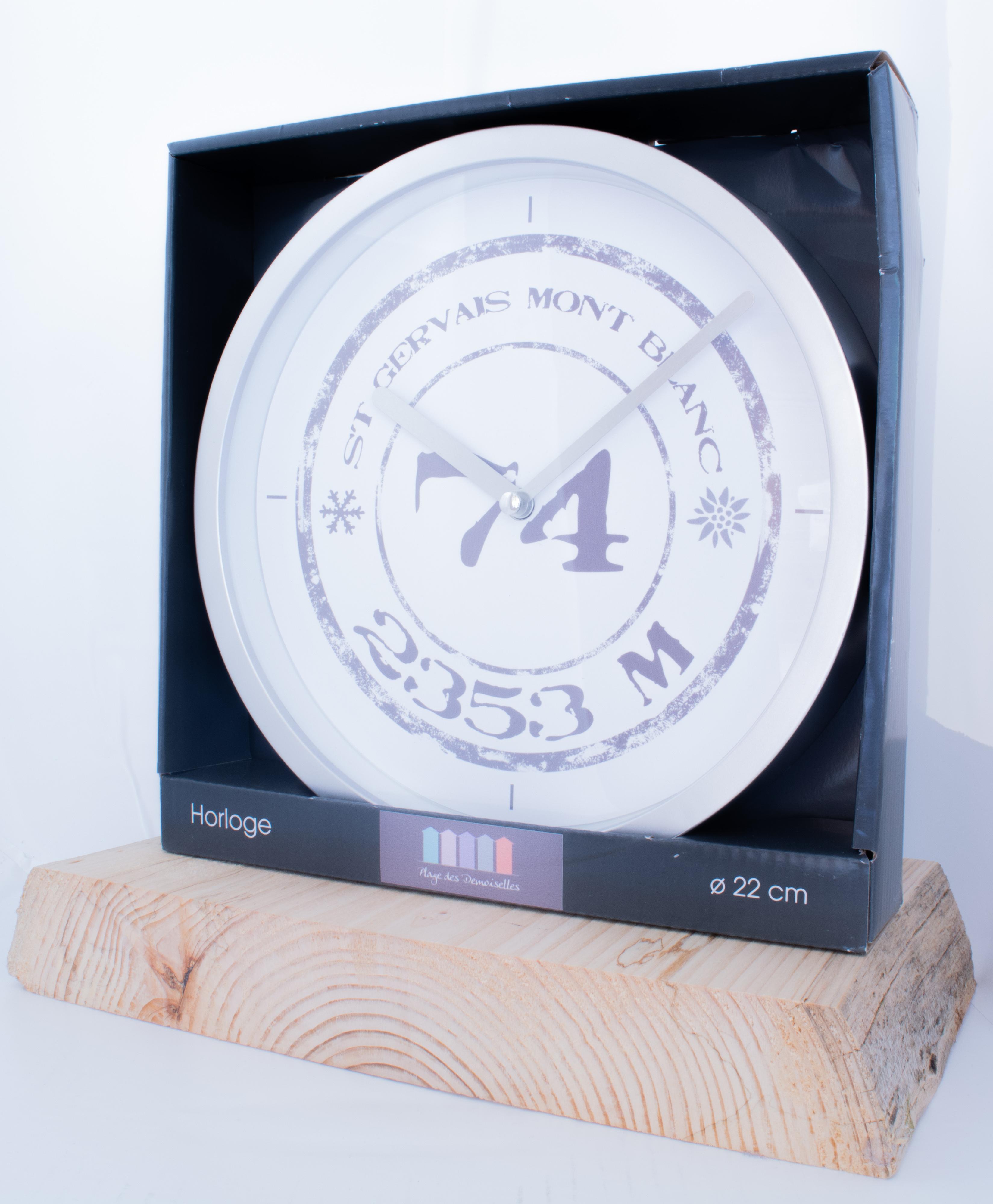 Horloge Saint-Gervais Mont-Blanc