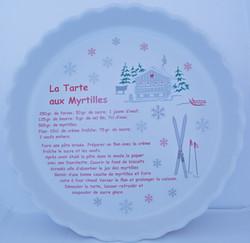 Plat Tarte aux myrtilles