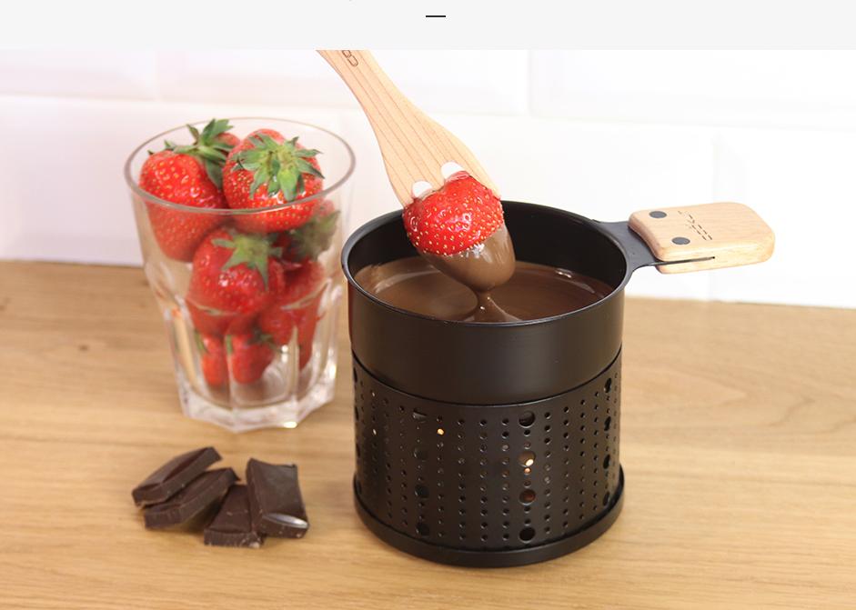 Lumi fondue au chocolat