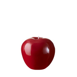 Bougie pomme rouge