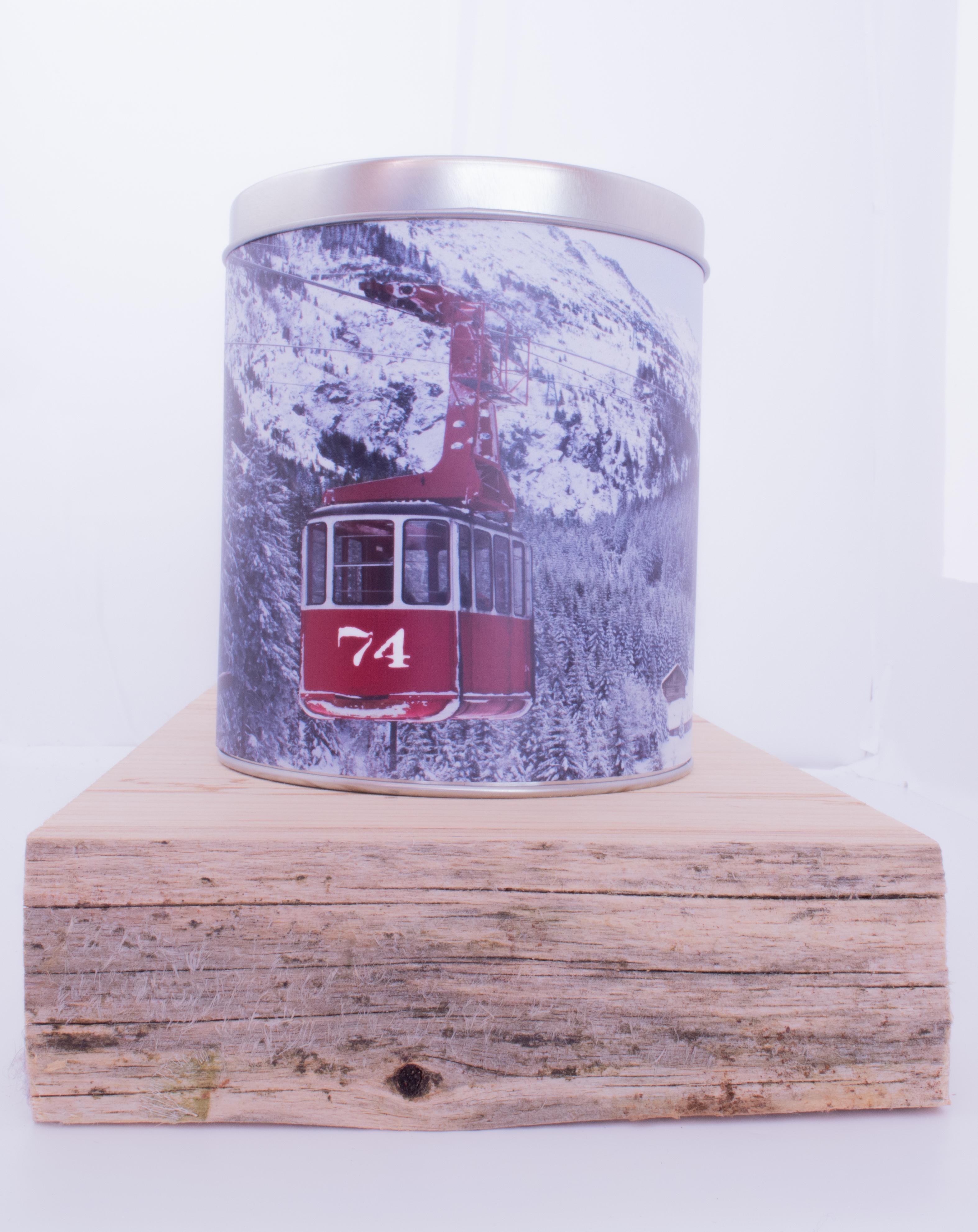Boîte métal télécabine