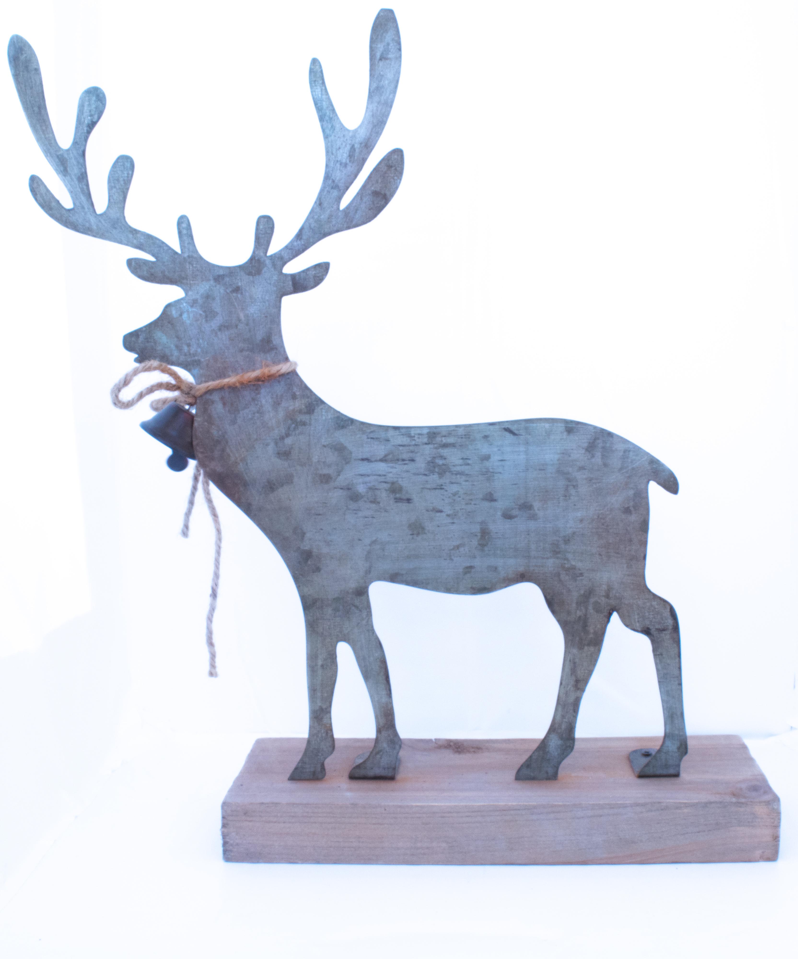 Cerf métal