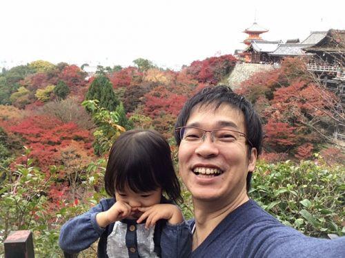 とても綺麗な清水寺の紅葉でした(^^)