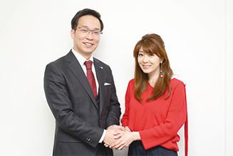 矢部みほさんと沢田代表