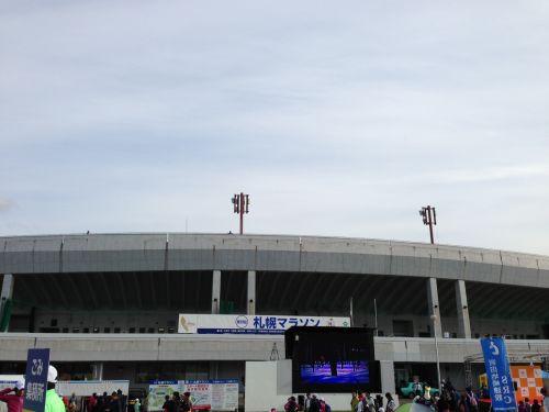 会場は真駒内積水スタジアムです。