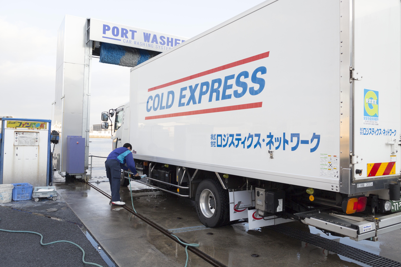 大型車対応洗車機