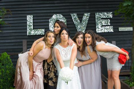 Brides best friends