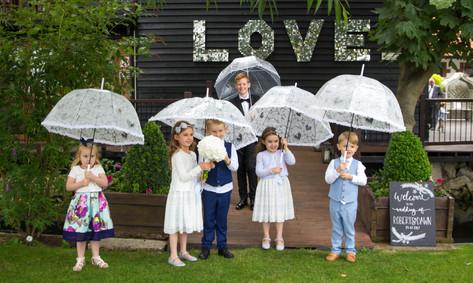 Bride & Groom's godchildren
